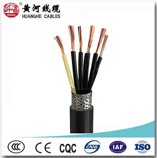 flexible core shielded control cable